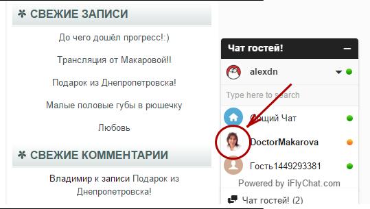 Чат Макаровой
